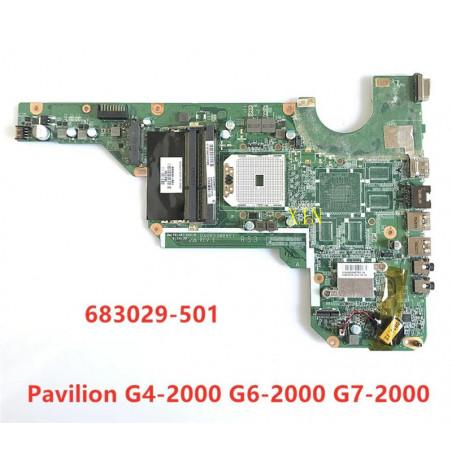 Материнская плата HP PAVILION G4-2000, G6-2000, G7-2000 DA0R53MB6E1 REV:E (S-FS1, DDR3, UMA)