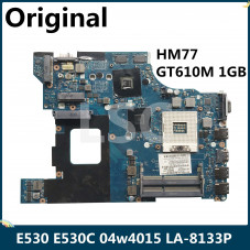 Материнская плата Lenovo ThinkPad Edge E430, E530 QILE2 LA-8133P S-G2 HM77-SLJ8C DDR3 GT610M-n13m-ge1-b-a1 1GB GPU 04w4015
